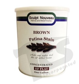 Sculpt Nouveau Patina Stain Matte Brown Gallon