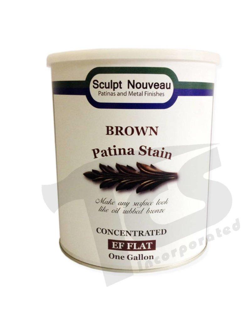 Sculpt Nouveau Patina Stain Matte Brown Gallon