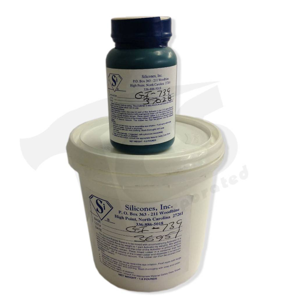 Silicones Inc. GI-739 Trial Kit (2lbs)