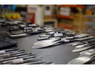 Steel Wax & Plaster Tools