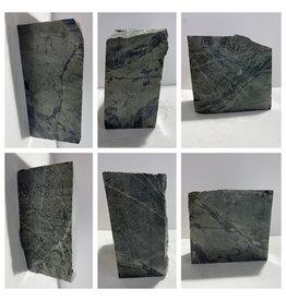 17lb Green Nephrite Jade 7x6x3 #J027