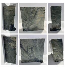 14lb Green Nephrite Jade 6x6x2 #J032