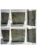 17lb Green Nephrite Jade 6x6x3 #J033
