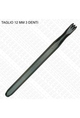 Milani Carbide Hand 3 Tooth 12mm
