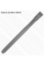 Milani Carbide Hand 5 Tooth Chisel 3/4'' (20mm)