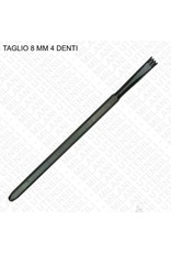 Milani Carbide Hand 4 Tooth Chisel 08mm