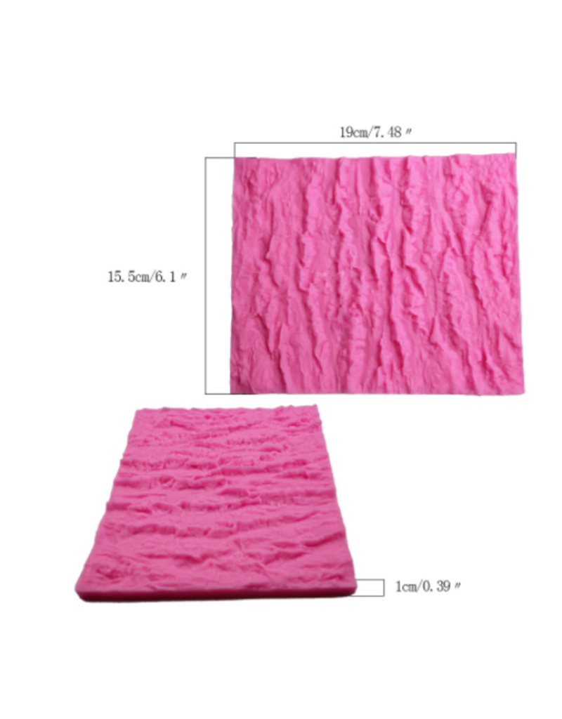 Just Sculpt Bark Silicone Stamp 6in