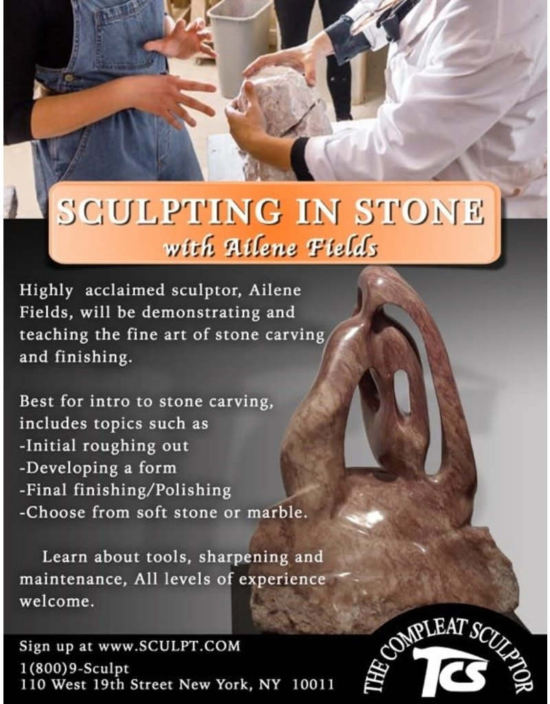 211001 Stone Carving Wednesday Class October 2021