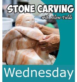 211101 Stone Carving Class Wednesday November 2021
