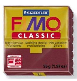 Fimo Classic Bordeaux Red #23 2oz