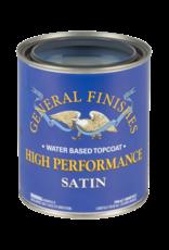 General Finishes High Performance Topcoat Satin Quart