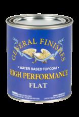 General Finishes High Performance Topcoat Flat Quart