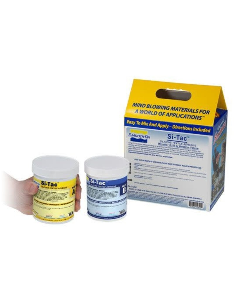 Smooth-On Si-Tac Textile Adhesive Trial Kit