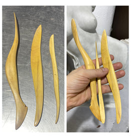 Penko Handmade Boxwood Tools Set of 3