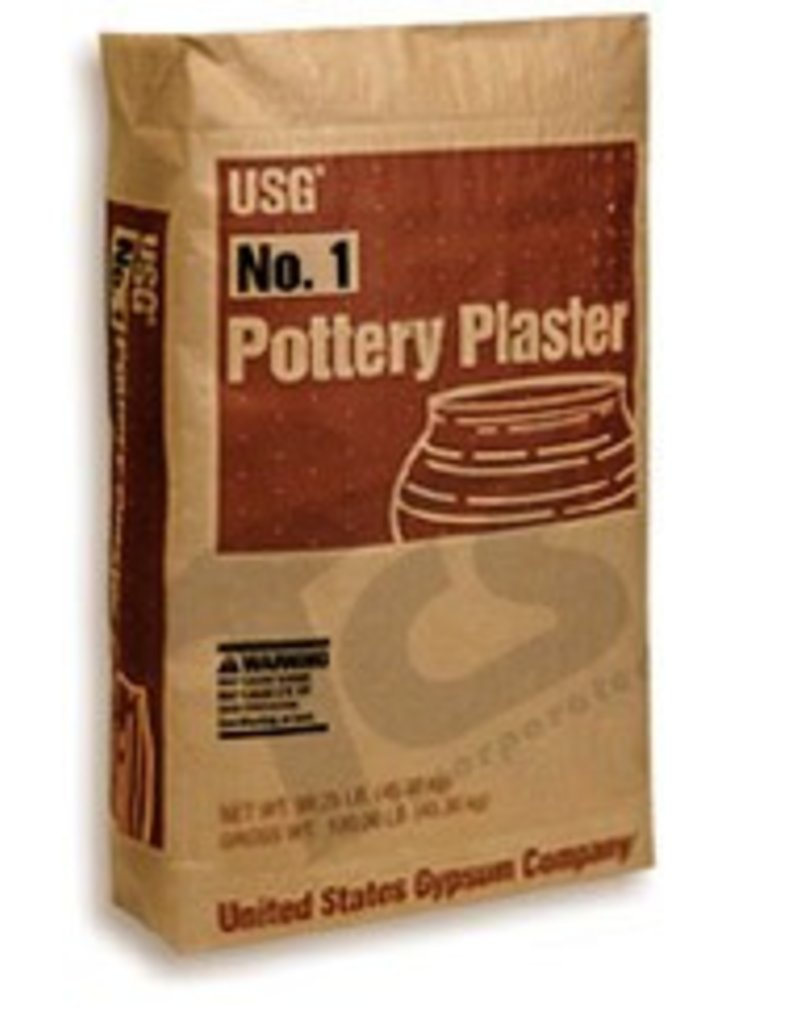 USG Pottery Plaster 50lb Bag