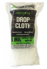 Plastic Drop Cloth 3Mil 9'x12'