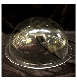 "Just Sculpt Plexiglass Dome Clear 16"" Dia 1/4"" Thick"