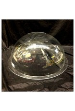 "Plexiglass Dome Clear 18"" Dia 1/8"" Thick"