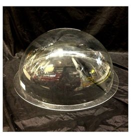 "Just Sculpt Plexiglass Dome Clear 18"" Dia 1/8"" Thick"