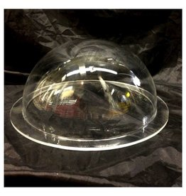 "Just Sculpt Plexiglass Dome Clear 12"" Dia 1/4"" Thick"
