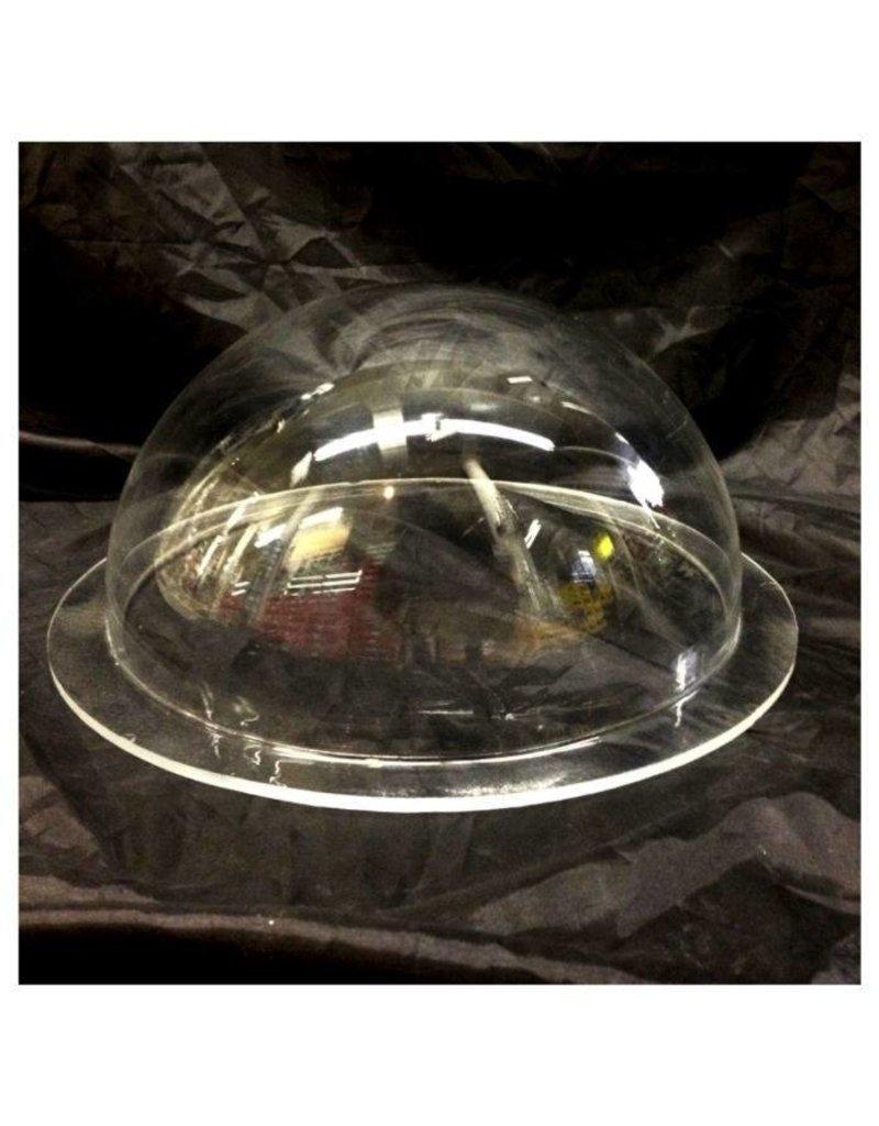 "Just Sculpt Plexiglass Dome Clear 12"" Dia 1/4"" Thick"