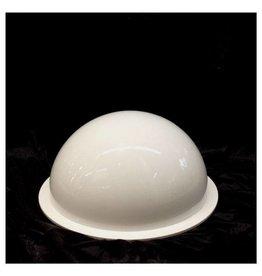 """Just Sculpt Plexiglass Dome White 16"""" Dia 1/4"""" Thick"""