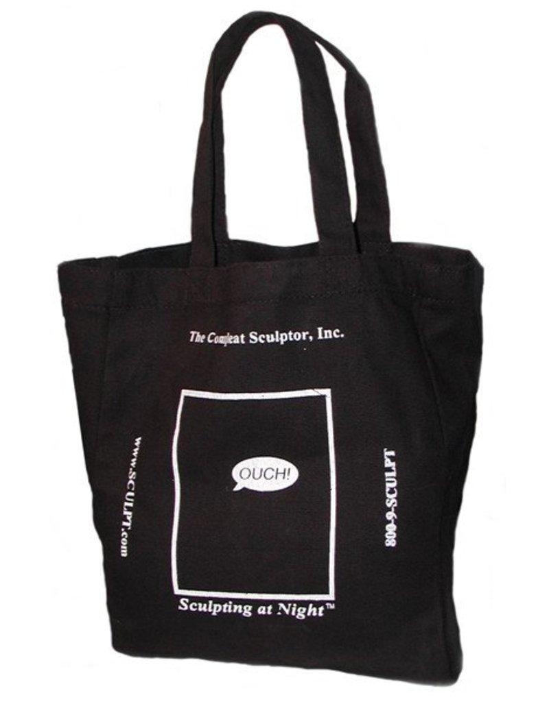 Just Sculpt TCS Black Tote Bag Small