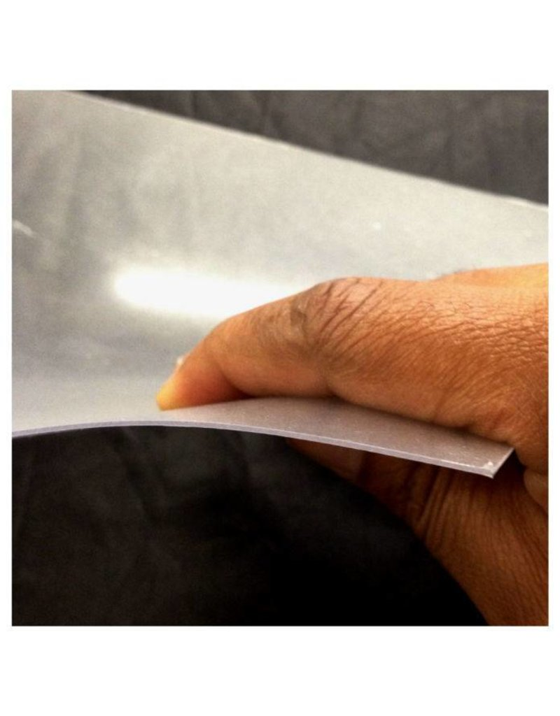 "Midwest Products Clear Polyester Sheet - .020 X 7.6"" (194 mm) X 11"" (279 mm)"