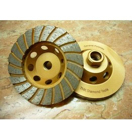 "4"" Sintered Turbo Diamond Grinding Wheel"