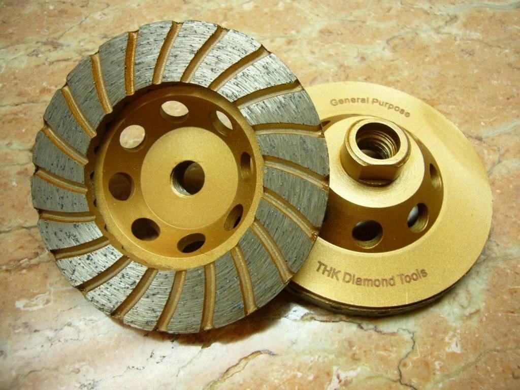 "4"" Sintered Turbo Diamond Grinding Wheel"