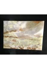 Stone 6lb Pakistani Onyx 9x6x1 #521047