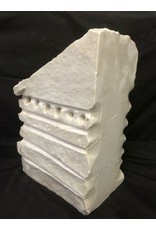 Stone 143lb Carrara Bianco blue/gray 18x12x8 #341002
