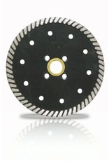 Just Sculpt 7'' Excel Turbo Diamond Blade w/ Flush Cut Adaptor