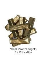Just Sculpt Small Bronze Ingots (10pc)
