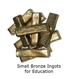 Just Sculpt Small Bronze Ingots (10pc)