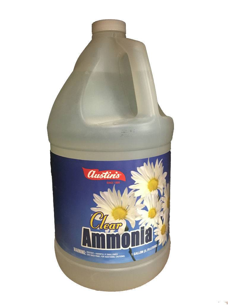 Clear Ammonia Gallon