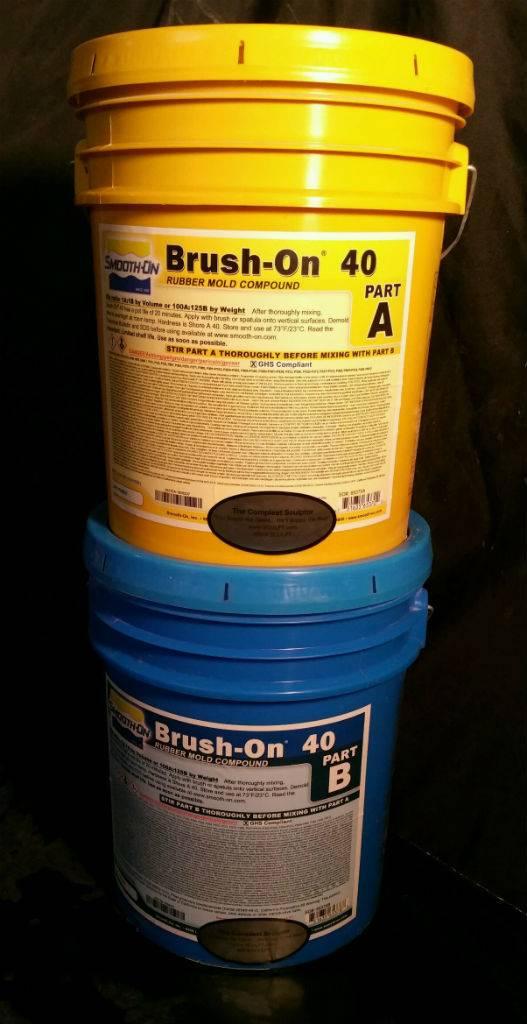 Smooth-On BRUSH-ON 40 10 Gallon Kit