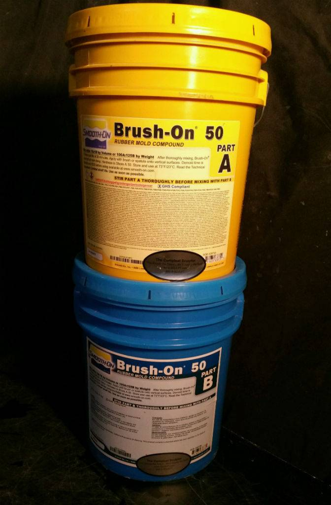 Smooth-On BRUSH-ON 50 10 Gallon Kit