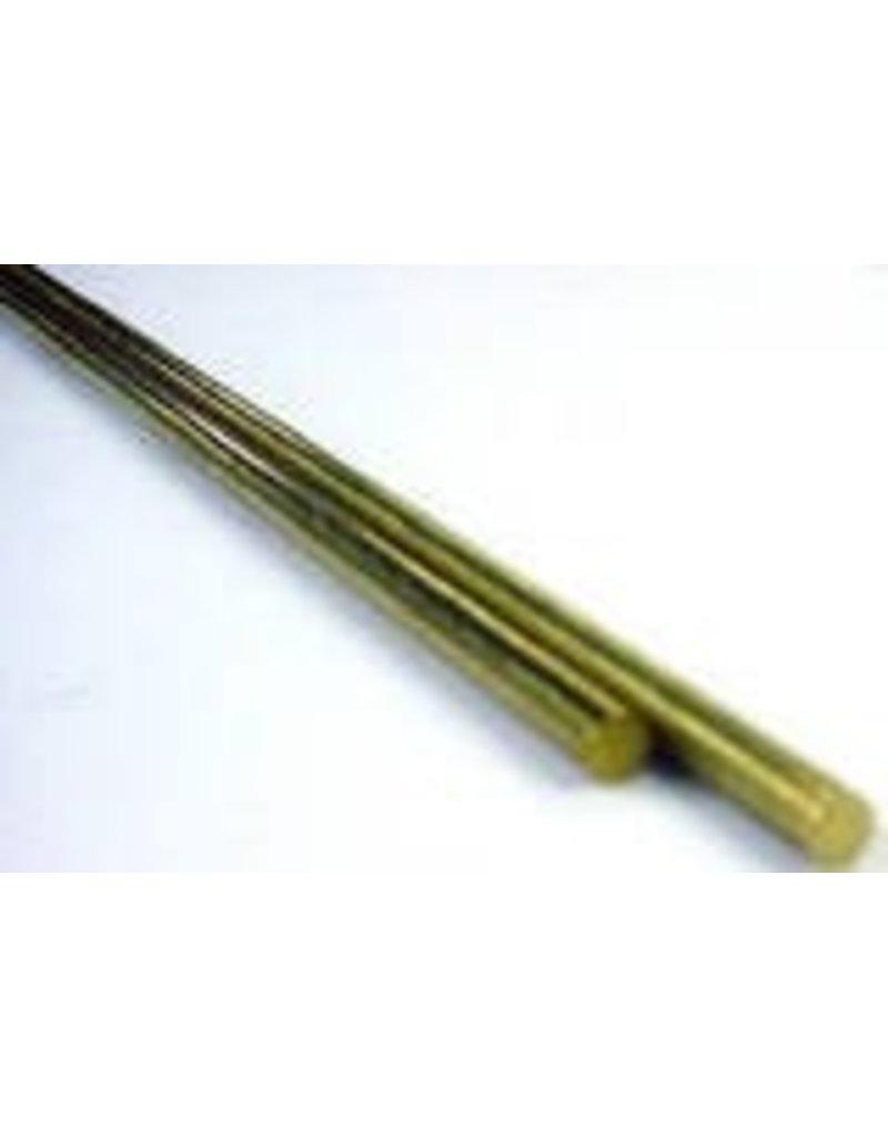 K & S Engineering Brass Rod 1/16''x12'' 2pc #1160