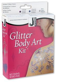 Jacquard Glitter Body Art Kit