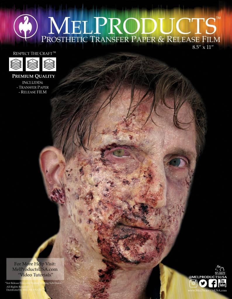 MEL Prosthetic Transfer Paper & Release Film