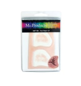 MEL Encapsulated Silicone Prosthetics Torn Flesh