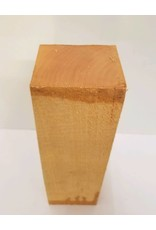 Wood Basswood Block 3''x3''x12''