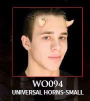Woochie Latex Horns Small