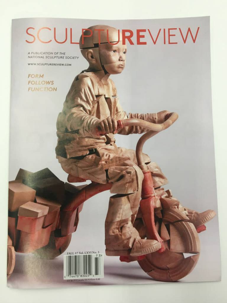 National Sculpture Society Sculpture Review Magazine LXVI no.3 Fall 17