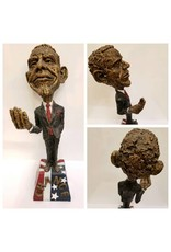 "Just Sculpt Obama Sculpture ""Spare Change"""