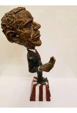 "Just Sculpt Obama Sculpture ""Spare Change"""