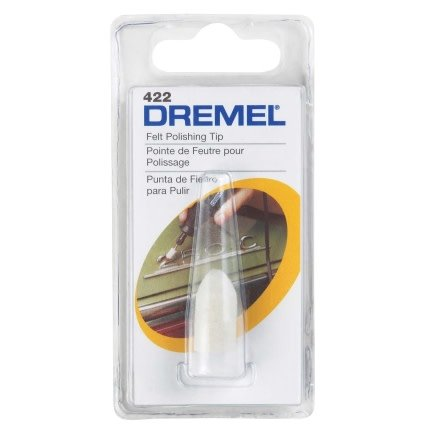 Dremel Felt Polishing Cone #422