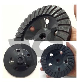 Just Sculpt 5 Inch Diamond Grinding Turbo Cup Wheel Coarse