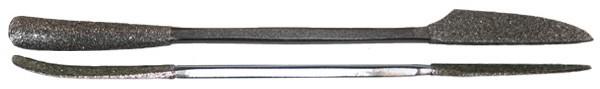 Milani Diamond Riffler #660 6'' (15cm)